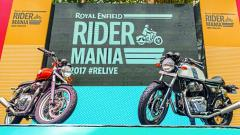 Royal Enfield Interceptor 650 and Continental 650.