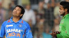 Sachin Tendulkar became the first man to notch up hundred international hundreds