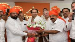 Shinde elected as Sena's house leader, Aaditya proposes name