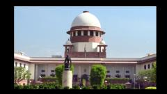 SC urges Parliament to enact law to prevent criminals from entering legislatures