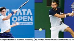 Indian challenge comes to an end in singles