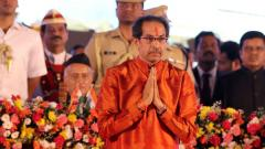 Uddhav Thackeray's swearing-in cost government Rs 2.79 crore