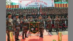 Indo-Nepal Armies joint Exercise Surya Kiran XIII concludes