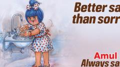 Amul posts ad, calls for cleanliness