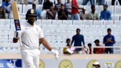 South Africa rocked after Rohit, Rahane put India on hot seat