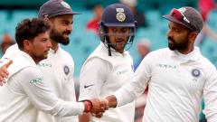 India on course for historic series win despite rain-hit day four