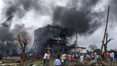 13 killed in explosions at chemical factory in Maharashtra
