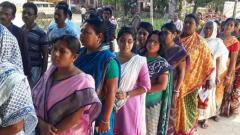 A high voter turnout was recorded in the third and largest phase of Lok Sabha elections Tuesday covering 116 constituencies amid complaints of EVM malfunctioning in many states and killing of a man outside a booth in West Bengal.