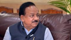 There is no community transmission in India says, Union Health Minister Harsh Vardhan