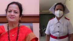 Mayor Kishori Pednekar dons her former nurse uniform to battle COVID-19