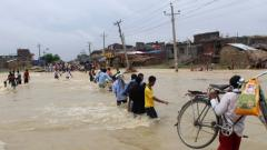 Floods, landslides claim 113 lives in Nepal