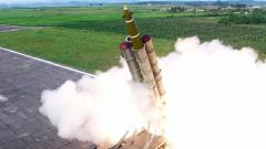 N Korea's Kim oversaw test of 'multiple rocket launcher'
