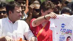 Congress alerts MHA on laser beam pointed at Rahul