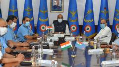 Rajnath Singh inaugurates Air Force Commanders Conference at Vayu Bhawan