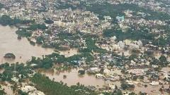 Chopper to drop relief material in flood-hit Sangli district