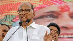 PM, Shah roaming in Maha as BJP senses defeat, says Pawar