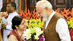 In Sushma's departure, BJP will miss a woman politician with enviable firsts