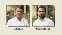 Tushar Kale and Prashant Bhosale