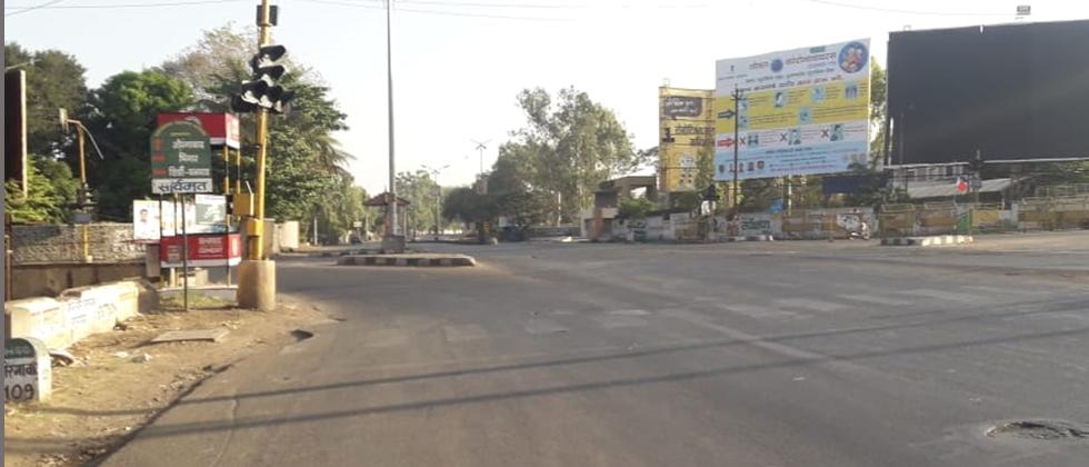 Nagar Totally Destrted due to Janata Curfew