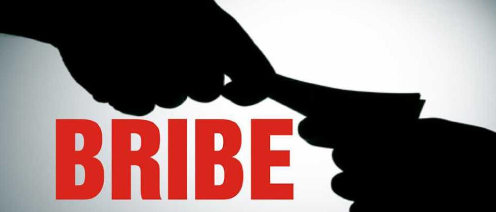Talathi and his helper was caught taking a bribe of Rs 2,000