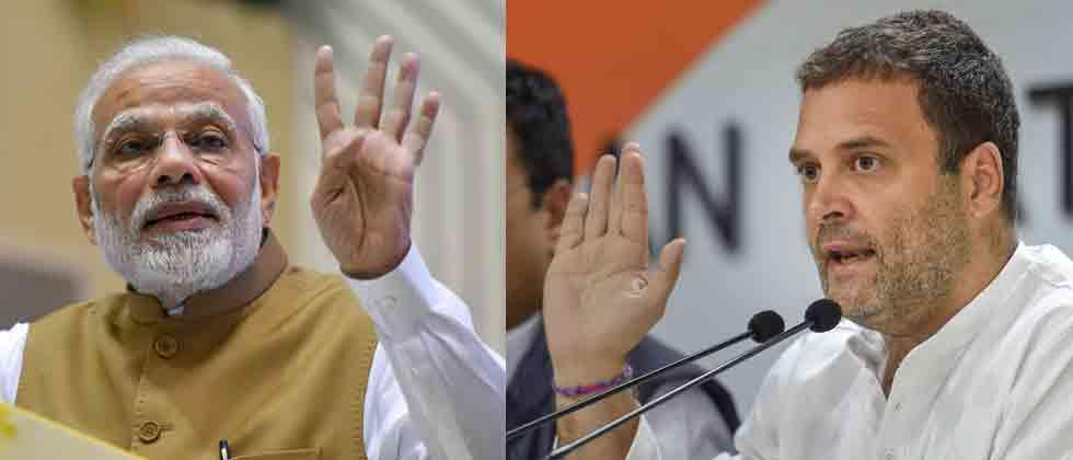 those who fight for truth cannot be intimidated says congress leader rahul gandhi