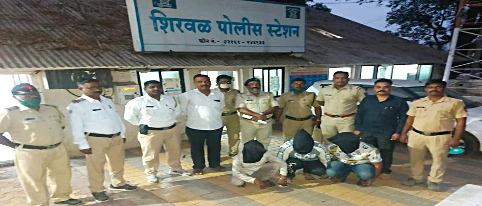 Shirwal police have nabbed an inter-state gang which was robbing lakhs of rupees by changing ATMs