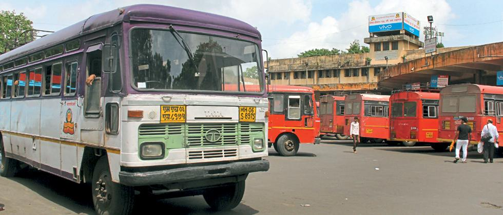 Maharashtra State Transport Buses started playing inter State also