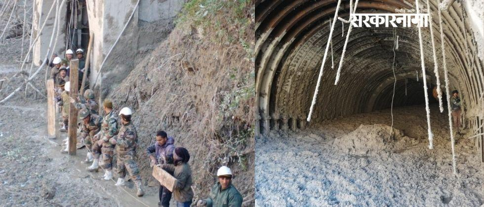 ITBP rescues 16 people trapped inside Tapovan tunnel in uttarakhand