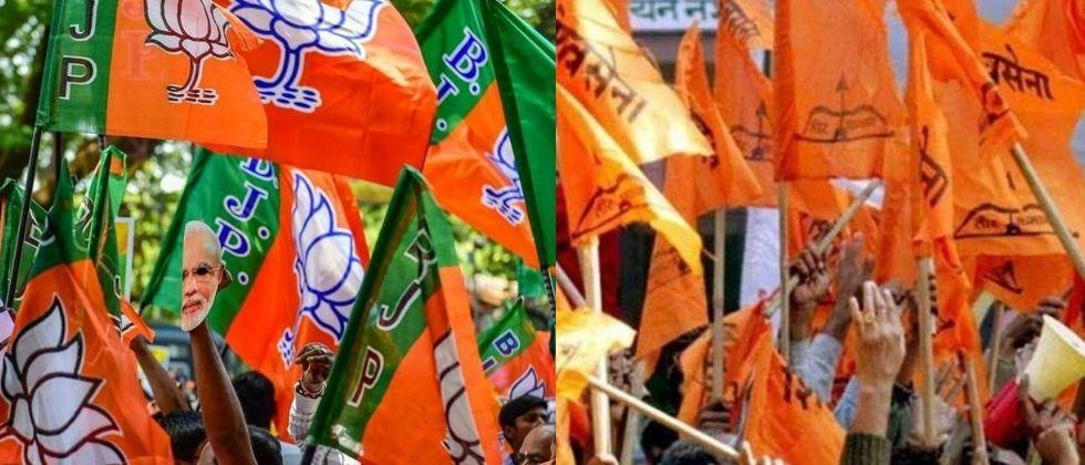 shivsena and bjp leaders are fighting each other in jalgaon municipal corporation