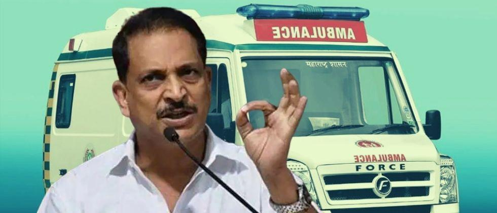 bjp mp rajiv pratap rudy says he does not get driver for ambulances