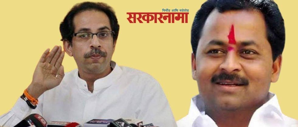 MLA Rajendra Raut wrote a letter to the Chief Minister making serious allegations against the officials
