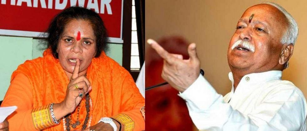 Same DNA except those who eat cow meat says Sadhvi Prachi on Mohan Bhagwat