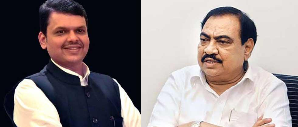 Khadse expressed this wish to Fadnavis during his Jalgaon tour