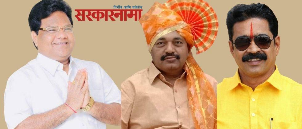 As soon as MLA Tanaji Sawant became active, district chief Purushottam Barde disappeared