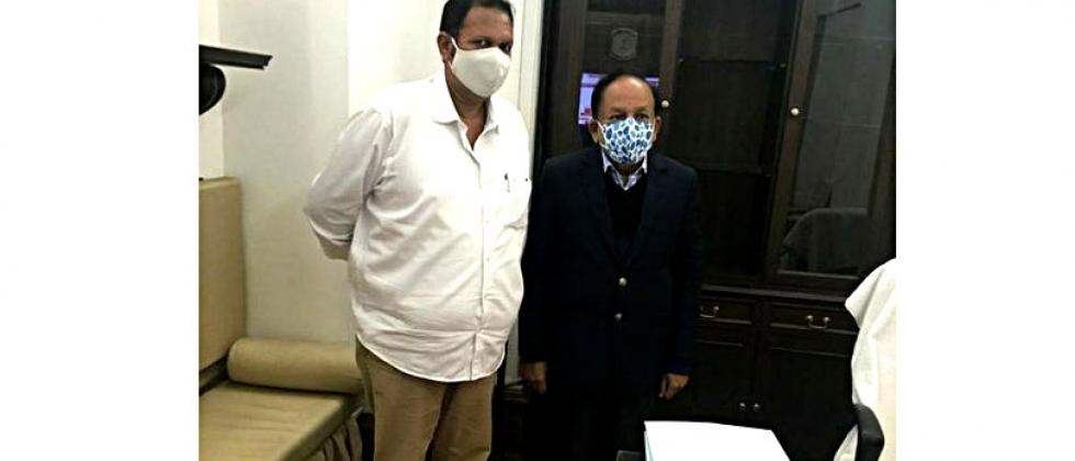 MP Udayanraje discusses with Union Health Minister for Satara Medical College; Demand for permission for additional seats
