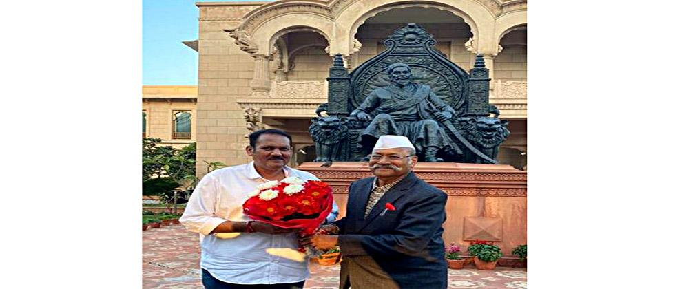In Delhi, Udayanraje met Srinivas Patil; The issue of Satara will be raised collectively in Parliament