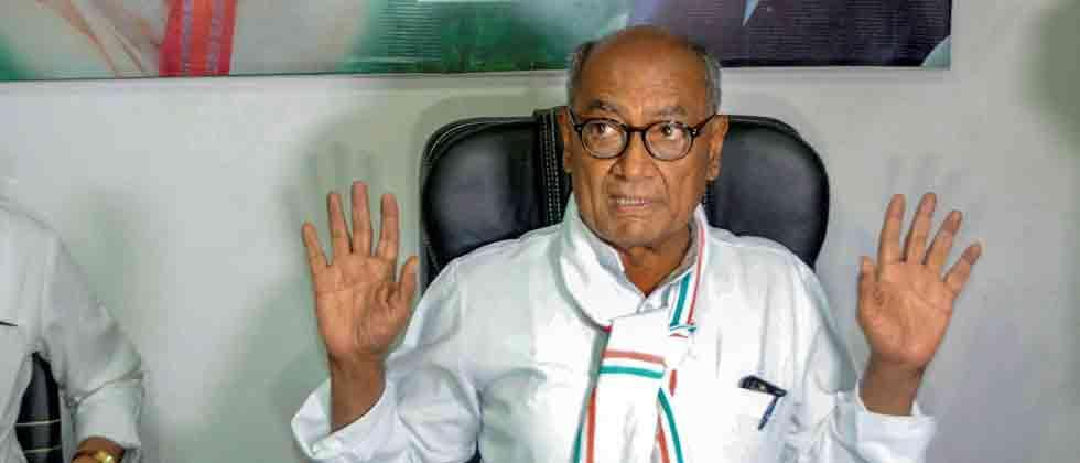 evm can be hacked says congress leader digvijay singh