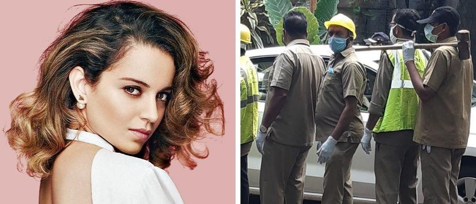 kangana ranaut demands 2 crore from bmc for demolition of bunglow