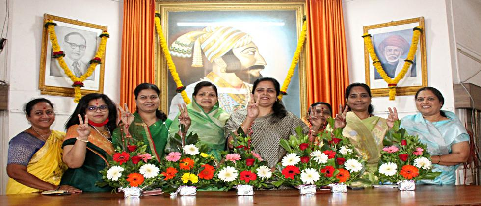 Satara Municipality now has five women chairpersons with the help of the mayor
