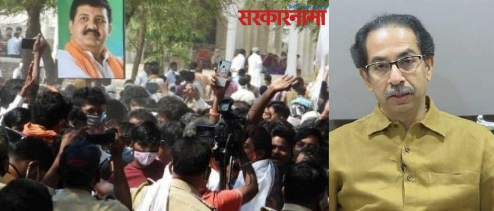 The administration should take immediate action against the crowd at Pohardevi