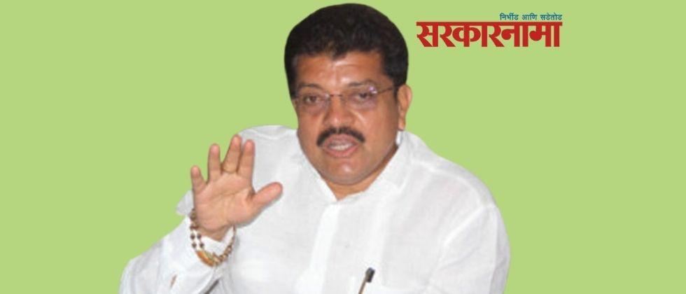 BJP MLA Suresh Bhole criticizes Thackeray government over distribution of pulses