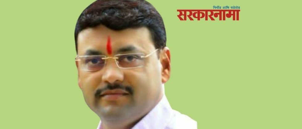 A case has been registered against a NCP Zilla Parishad member for beating