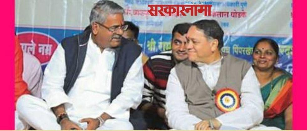 Former MP Shivajirao Adhalrao Patil congratulated Home Minister Dilip Walse Patil