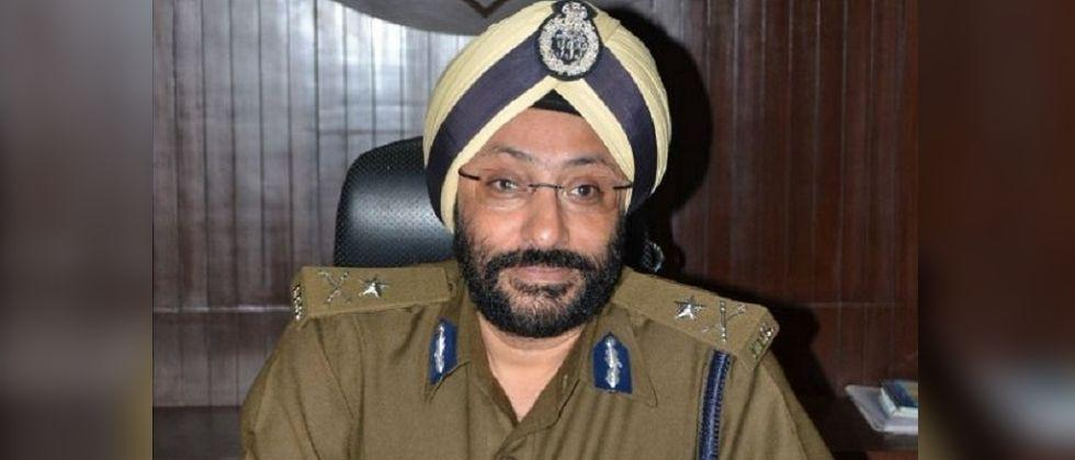 Suspended Chhattisgarh IPS officer booked for sedition