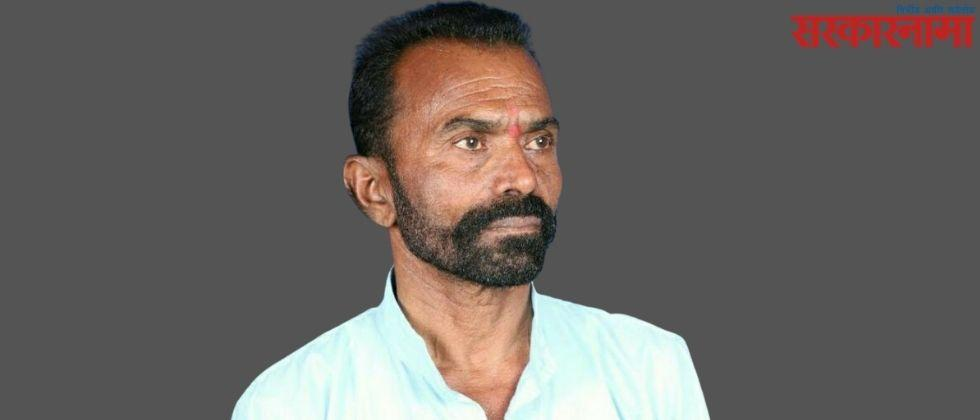 Accidental death of Sarpanch's post candidate Ashok Tarte