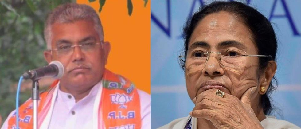 west bengal bjp president dilip ghosh threatens tmc workers