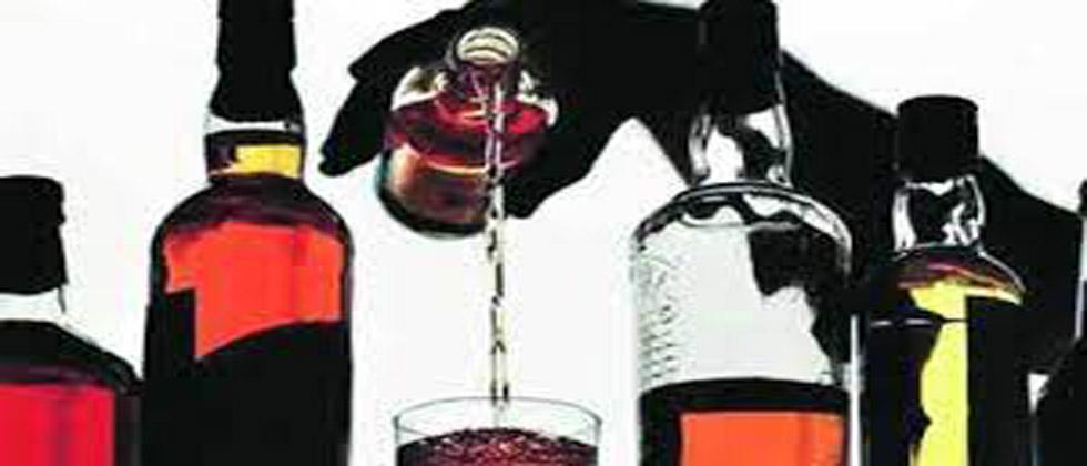 wine sale in Ration shop