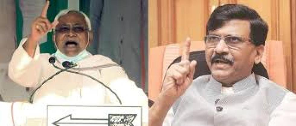 Due to Shiv Sena, BJP had to declare Nitish Kumar as the Chief Minister