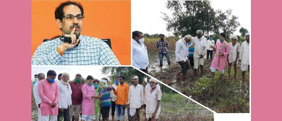 Uddhavji should prove Balasaheb's legacy by giving Rs 50,000 per hectare to farmers