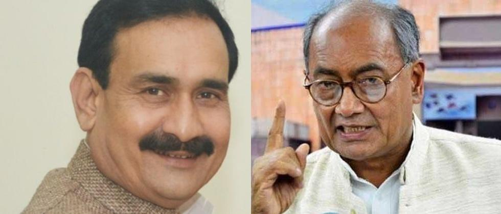If Digvijaya Singh questions EVMs it means BJP is winning says bjp leader